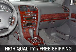 Cadillac cts 03 07 Interior Wood Grain Dashboard Dash Kit Trim Parts TYT45