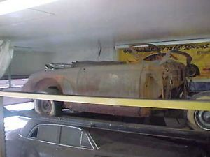 1949 Cadillac Convertible Barn Find with 4 Door Parts Car Hot Rat Street Rod
