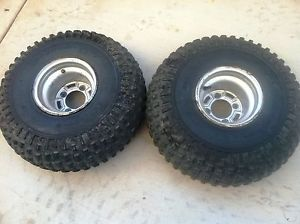 Honda ATC 250sx ATC250SX 250 SX Rear Wheels Rims Tires