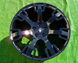Maserati Wheel Black Center Cap Rim Center Cap Original Black
