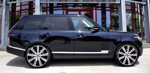 "2013 Range Rover HSE 24"" Wheels Rims Compare to 22"" Fit 2004 2014"