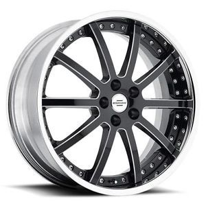 22 inch Redbourne Viceroy Black Wheels Rims 5x120 32 Land Rover Range Rover