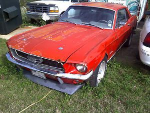 1967 Ford Mustang Salvage Car for Parts Only