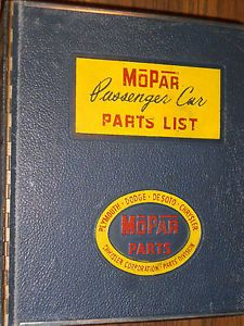 1955 1956 1957 Dodge Chrysler Plymouth DeSoto Parts Book Original Catalog