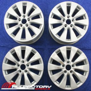 "Honda Accord 17"" 2013 Factory Wheels Rims Silver Set 4 Four 64047"