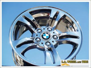 "Set of 4 New 17"" BMW x3 E83 Chrome Wheels Rims Z3 Z4 528xi 530xi 535xi 59450"