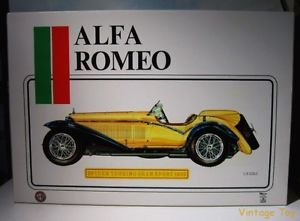 Pocher 1932 Alfa Romeo Gran Sport Tourer 1 8 Scale Model Car Parts Lot