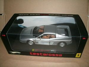 1 18 Ferrari Testarossa Diecast Model Hot Wheels Elite Ferrari Collectible