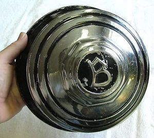 Buick Spitoon Style Snap on Hub Cap Hubcap for Artillery Wheels 1930s Very RARE