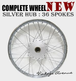 New Honda C90 CM91 C200 CA200 CT90 CT110 CT200 Front Wheel Rim Hub Spoke F7S