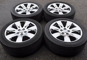 "18"" Buick Lacrosse Regal Used Chrome Wheels Rims Tires 4095"