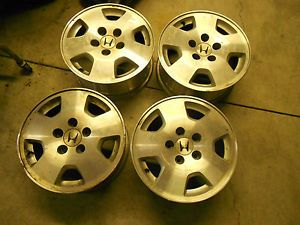"Factory Honda Aluminum Wheels 15"" Honda Odyssey Honda Accord Honda Element"