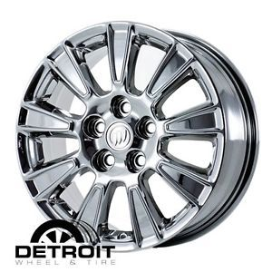 Buick Allure Lacrosse PVD Bright Chrome Wheels Factory Rim 4094 Exchange
