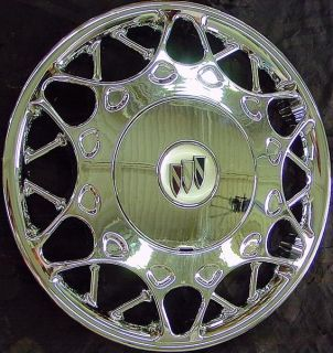 "'00 01 02 03 Buick Century 15"" Chrome Hubcap Wheel Cover New with Used Center"