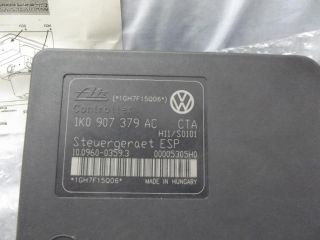New Audi A3 VW Golf Jetta Touran Octavia Leon ABS Control Unit ECU 1K0 907 375AC
