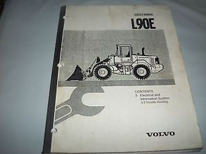 Volvo L90E Wheel Loader Service Manual Section 3 Electrical Information
