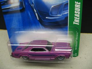 Hot Wheels Treasure Hunt 64 Buick Riviera