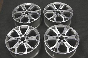 "4 New 2013 Factory GMC Acadia 19"" Wheels Rims Chevy Traverse Buick Enclave"
