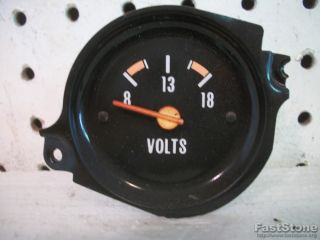 Chevy GMC Pickup Truck Interior Dash Volt Voltmeter Battery Gauge Blazer Jimmy
