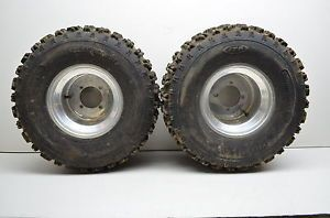 "07 Honda TRX250EX 250EX Rear Wheels Rims 22"" Holeshot Tires"