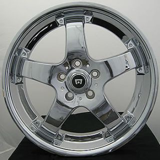 19x10 Chrome Motegi Touge Wheels 5x4 5 40 Lexus Is F SC 430 Maserati