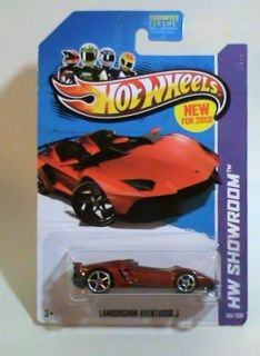 Hot Wheels Lamborghini Aventador J Roofless Windowless Super Car Race Roadster 746775110840