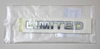 Kia Sorento R 86313 2P000 Limited Genuine Emblem Trunk Logo Korea Parts Chrome