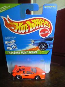 1996 Hot Wheels Treasure Hunt Series Lamborghini Countach 10