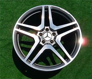 4 Perfect Genuine Mercedes Benz AMG CL63 CL65 S63 S65 Forged 20 inch Wheels