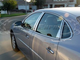 2005 2009 2008 Buick Lacrosse 8PC Chrome Pillar Post