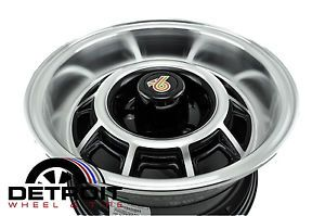 Buick Grand National Factory Wheel Rim BUICKGN15X10 Machined Black 1982 1988