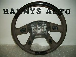 Buick Rainier Bravada GMC Envoy Trailblazer SSR Steering Wheel 05 06 07 10356364