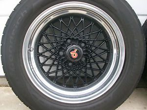 1984 1987 Buick Grand National GTA 4 Wheels 16x8 and BF Goodrich G Force Tires