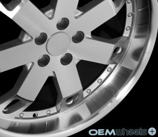 "22"" Silver Lip Wheels Fits Land Rover Range Rover Sport HSE Supercharged Rims"