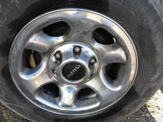 00 01 02 03 Isuzu Rodeo Factory Chrome Wheel 16x7 Steel Rim