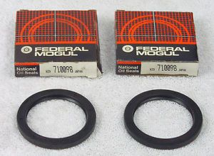 710098 National Front Wheel Seal Set of 2 Fits Chevrolet Geo Isuzu Pontiac