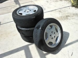 Original Mercedes Benz AMG Wheels Rims and Tires 2024010902 15x7 ALY65202