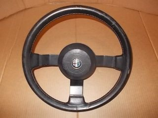 Alfa Romeo GTV 6 Spider Used Original Leather Rim Steering Wheel