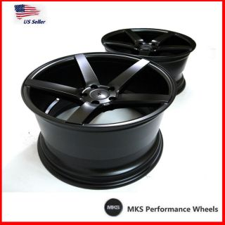 MKS 550 19x8 5J 9 5J 5x114 3 Staggered Concave Wheels Hyundai Genesis Kia Optima