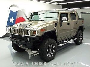 "2006 Hummer H2 SUT 4x4 Lifted Sunroof 20"" Wheels 62K MI Texas Direct Auto"