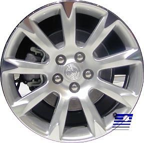 Refinished Buick Lacrosse 2010 2013 19 inch Wheel Rim