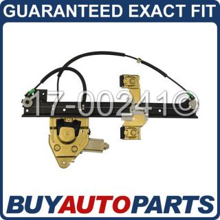 Brand New Rear Left Window Regulator with Motor for GMC Buick Chevy Olds Isuzu