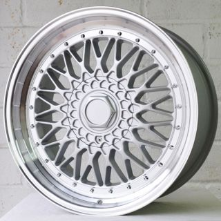 "18"" VW Golf MK4 97 04 2 0i GTI OS3 Mesh Deep Dish Alloy Wheels 5x100"