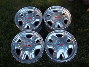 16'' GMC Sierra 1500 Yukon Factory Wheels Rims 99 03 5095 Polished Tahoe