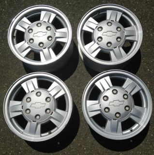 Chevy Colorado GMC Canyon Isuzu i290 i350 Factory Wheels Rim Stock 2004 2008