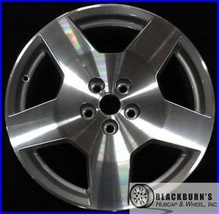 "06 07 08 Chevy Malibu 18"" Machined Silver Wheel Take Off Factory Rim 5087"