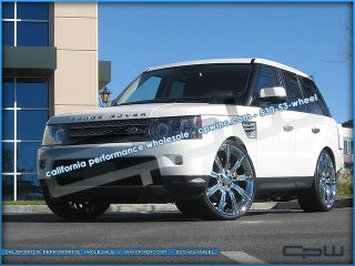 "24"" inch Range Rover Sport Chrome Wheels Rims Land Rover Stormer 20 22 2012 2011"