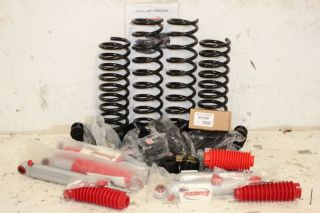 "Rancho 4"" Sport Suspension Lift Kit w RS9000XL Shocks 07 11 Jeep Wrangler JK"