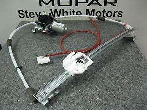 02 07 Jeep Liberty Power Window Regulator Right Front Mopar Revised Parts