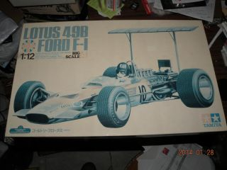 Tamiya 1 12 F1 Lotus 49B Ford Super Detail Kit